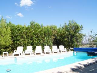 Maison familiale avec piscine dans le Gard 6/8pers - La Calmette vacation rentals