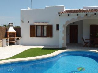 Villa with beach,garden Cala L - Es Llombards vacation rentals