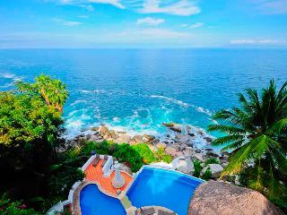 AVAIL NEW YEAR   !  BEAUTIFUL OCEAN FRONT VILLA - Puerto Vallarta vacation rentals