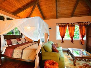 LOTUS LOFT ON LUSH ACRES, STREAM, AMAZING VIEWS & - Kapaa vacation rentals