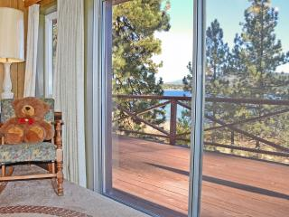 Breathtaking lake views, secluded cabin, sleeps 6 - Fawnskin vacation rentals