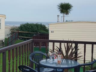 4 Berth, 2 bedroom Caravan,with stunning Sea Views - Trimingham vacation rentals
