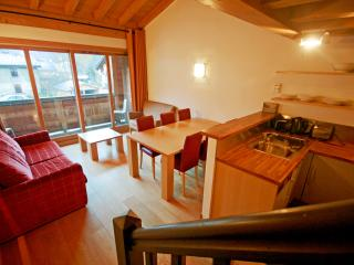 Mazot Prarion: Cosy apartment with private balcony - Les Houches vacation rentals