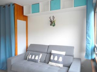 Superb renovated studio with small bedroom - L'Alpe-d'Huez vacation rentals