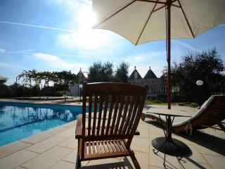 Trullo Alessia with pool in the heart of Valle d'I - Cisternino vacation rentals