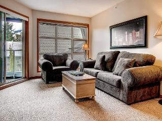 Aspens #563, Top Floor 2 Bdrm, Ski in Ski out, Bright Pool View, Free Wifi - Whistler vacation rentals