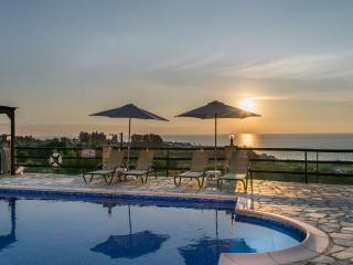 Breathtaking sunset views! 3BR villa, private pool - Kissonerga vacation rentals