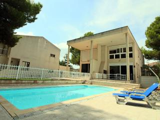Beachfront pool villa under pines - Puerto de Alcudia vacation rentals