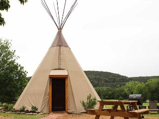 Amazing Tipis! #3 Reservation On The Guadalupe, Heated/AC, Insulated TIpis! - New Braunfels vacation rentals
