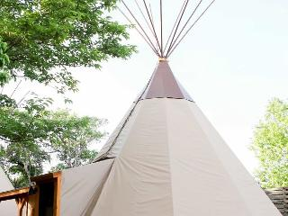 Amazing Tipis! #5 Reservation On The Guadalupe, Heated/AC, Insulated TIpis! - New Braunfels vacation rentals