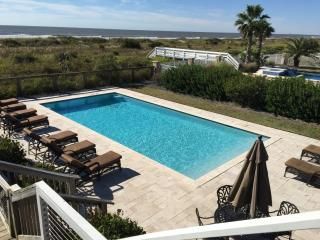 Oceanfront Home with Pool, Sun-room, Large Deck and Private Beach Access! - Isle of Palms vacation rentals