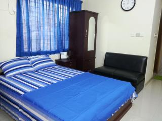 NJI01: Spacious secured tidy AC room near Airport - Uttara vacation rentals