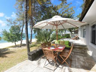 Family beachfront villa on a beautiful beach - Pointe d'Esny vacation rentals