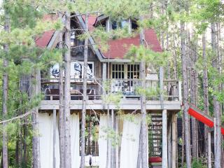 Treehouse & Cabin Retreat for four ! - Durham vacation rentals
