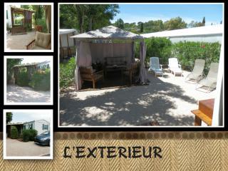 Mobilhome 4/6 pers camping 4 * calme et ombragé - frejus vacation rentals