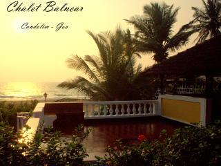 Chalet Balnear - Beach Villa overlooking the sea!! - Candolim vacation rentals