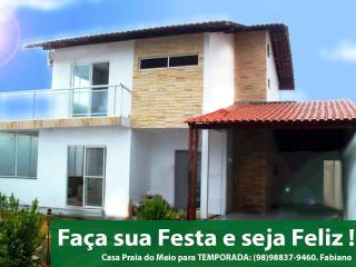 Casa de Temporada Duplex na Praia do Meio- Araçagy - Sao Luis de Maranhao vacation rentals