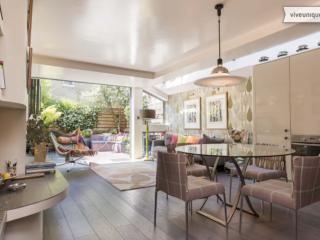 Interior designed 2 bed garden flat, Glenrosa Street, Fulham - London vacation rentals