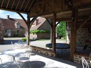 Group accommodation with typical dining and pool - Carrouges vacation rentals