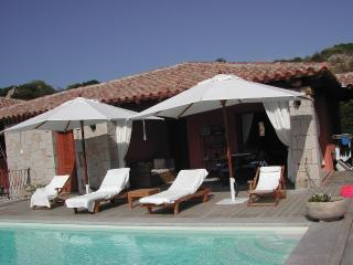 Walk to the beach villa with pool - Capo Coda Cavallo vacation rentals
