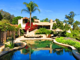 5-star LUXURY RESORT:Tennis, Pool, Spa, 3 acre Estate near Beach, Golf, Races - Rancho Santa Fe vacation rentals
