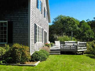 BRACJ - Katama Area  Home,  Bike or Drive to South Beach and Edgartown Village Area,  Private yard, Large Deck with Patio Dining, - Chappaquiddick vacation rentals