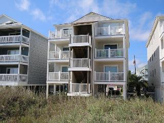 Beach Front Oasis - Oceanfront condo just steps away from the sandy beach - Carolina Beach vacation rentals