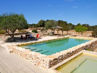Villa con piscina, vista laguna e Ibiza, 10 pax - La Savina vacation rentals