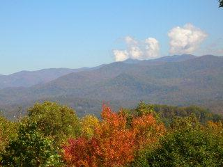 Mountain Valley View Cabin near Cherokee NC - Cherokee vacation rentals
