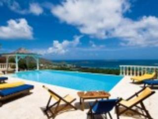 Villa Coralia with panoramic ocean view - Orient Bay vacation rentals