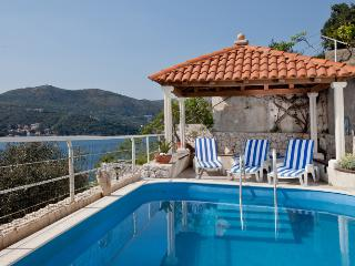Dalmatian Villa with pool and private beach - Zaton vacation rentals
