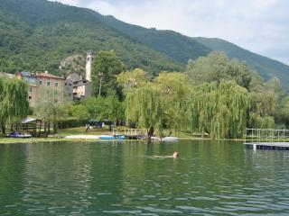 House front Lake with private beach boats platform - Vittorio Veneto vacation rentals