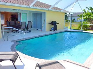 Villa Sunvill on a Gulf access canal wit Boat dock - Cape Coral vacation rentals