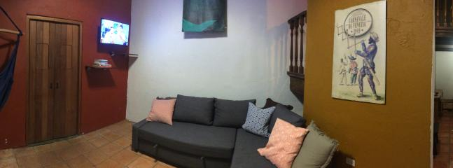 Living Room Area - The Old San Juan Loft at O'Donnell st - San Juan - rentals