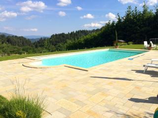 Pianacci, private pool, stunning views, WIFI - Villa Collemandina vacation rentals