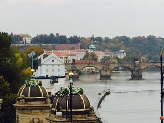 BALCONY River View Lesser Town 3 bedroom 1.5 bath - Prague vacation rentals
