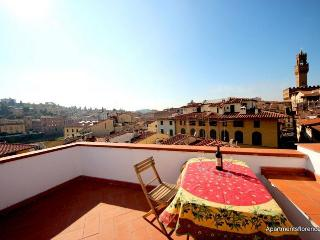 1 Bedroom Penthouse Apartment with Spectacular Views at Neri Terrace - Florence vacation rentals