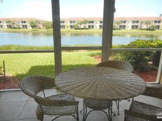 Gorgeous 1 bedroom condo with beautiful lake views in the Villagio - Estero vacation rentals