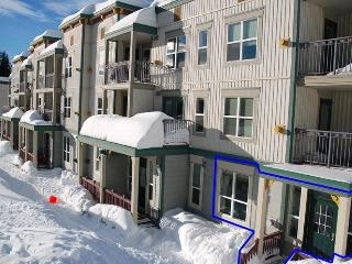 True ski in-ski out  2 bedroom/2 bath Pet Friendly - Silver Star Mountain vacation rentals