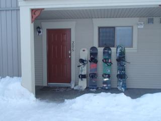 Walk-out unit with ski in/out access Pet Friendly - Silver Star Mountain vacation rentals