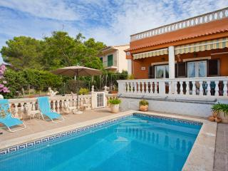 Spectacular villa with private pool and sea views - Llucmajor vacation rentals