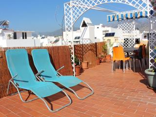 Penthouse with terrace 85m2 center, 2 min beach - Nerja vacation rentals