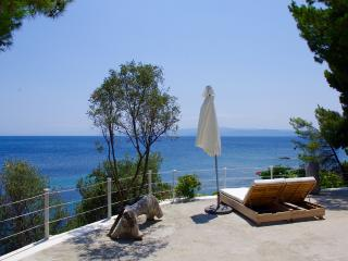 Beachfront private villa - Skiathos Town vacation rentals