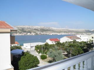 3 Apartments near Beach for 15+2 - with Wi-Fi - Pag vacation rentals