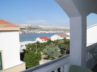 Apartment for 4 with wunderfull view - Pag vacation rentals