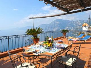 Villa Mari - seaview towards Positano and Capri - Praiano vacation rentals