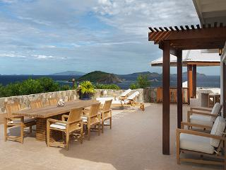 Nestled midway up a plush hillside above yacht- filled Deadman's Bay, this villa offers grand vistas and invaluable privacy. PTR CRO - Tortola vacation rentals