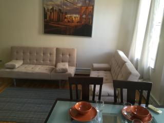 Large 1 Bedroom with Cozy Backyard - New York City vacation rentals