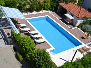 Trogir Center Apartment House for 20 with Pool - Trogir vacation rentals
