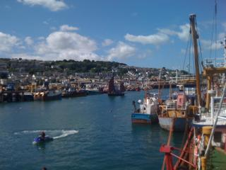 Lovely views over Newlyn Harbour and Mounts Bay - Newlyn vacation rentals